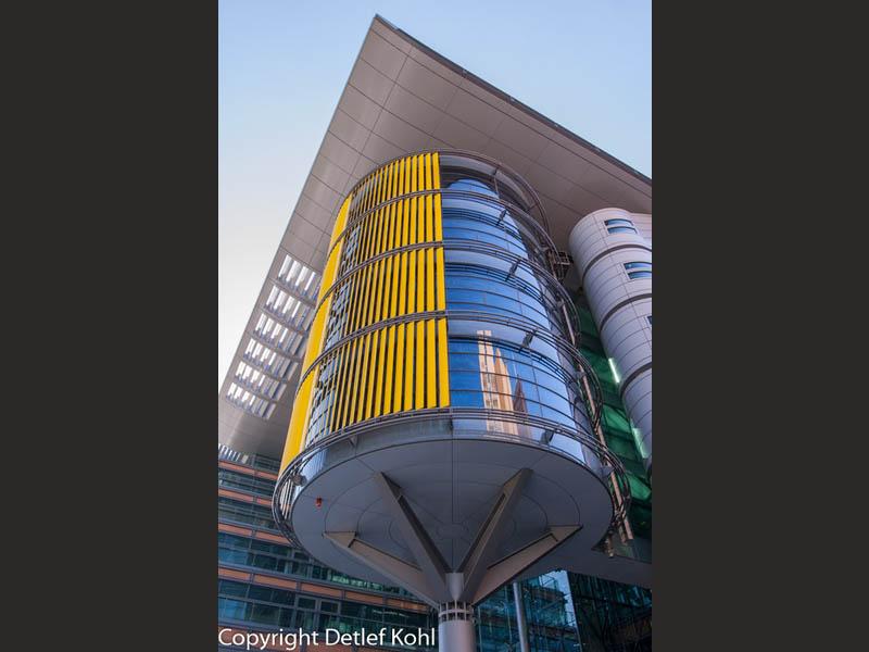 Fotografie: moderne Architektur im städtebaulichen Zentrum Berlins - Potsdamer Platz