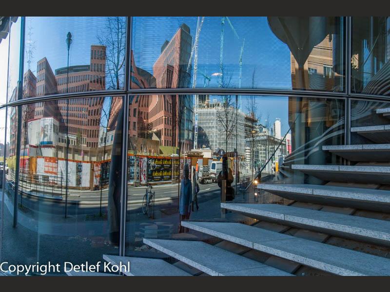 Architektonisches Abbild von Berlin - Potsdamer Platz