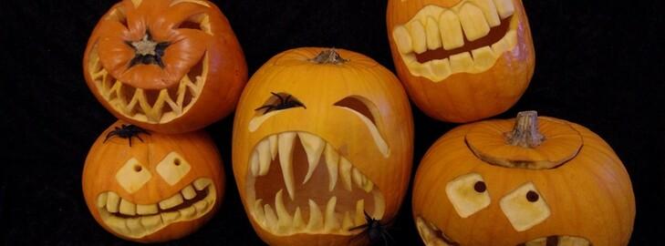 Vendita Zucche Intagliate Halloween - Zucche Intagliate Halloween