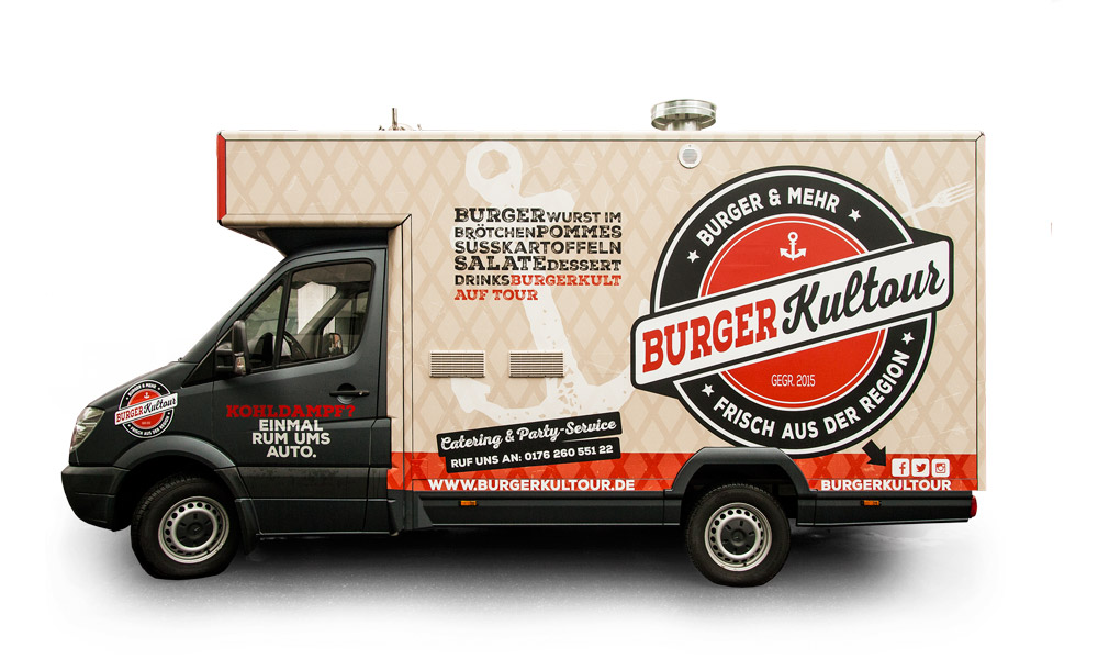 Burgerkultour - Food Truck in Hamburg
