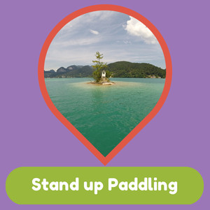 Stand up paddling Mattsee, Stand up paddling Wolfgangsee, Wallersee - Fuschlsee - Mondsee- Sports - SUP - Training