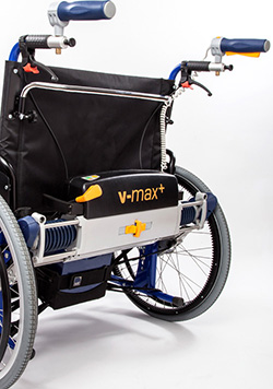 Rollstuhl Zusatzantrieb