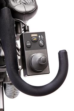 Rollstuhlsteuerung für Begleiter