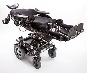 0°-Liegefunktion beim Rollstuhl