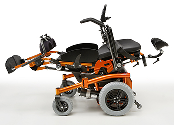 Liegefunktion beim Rollstuhl