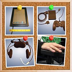 Joysticks zur Rollstuhlsteuerung