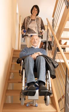 Treppensteiger, Hindernisse überwinden