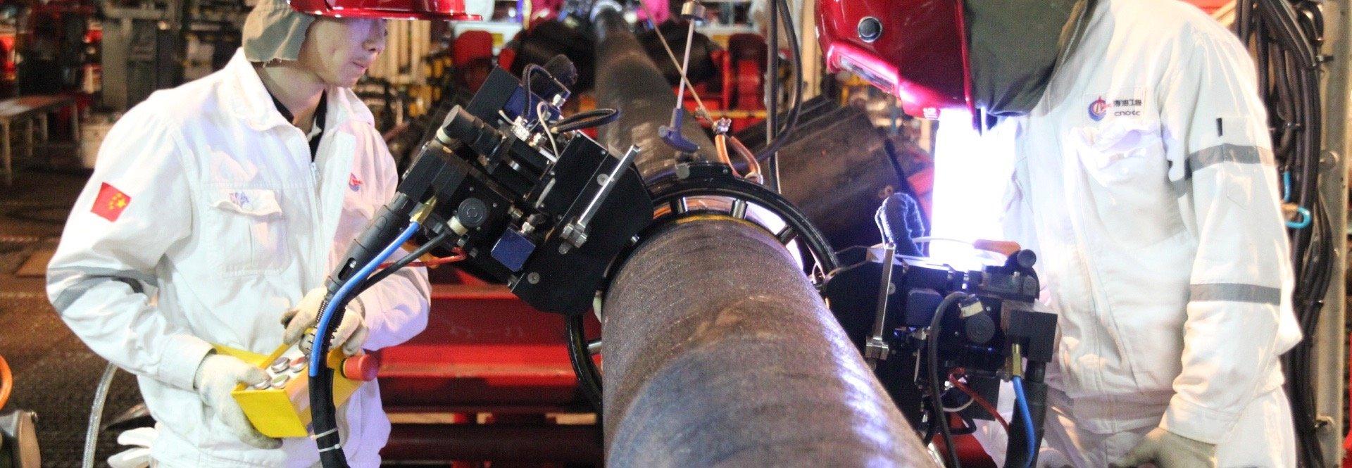Pipe Welding, Orbital Welding, Orbitalschweißen, Rohrschweißung