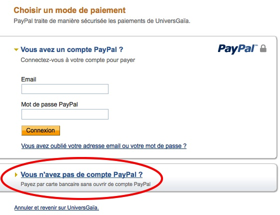 aide Paypal