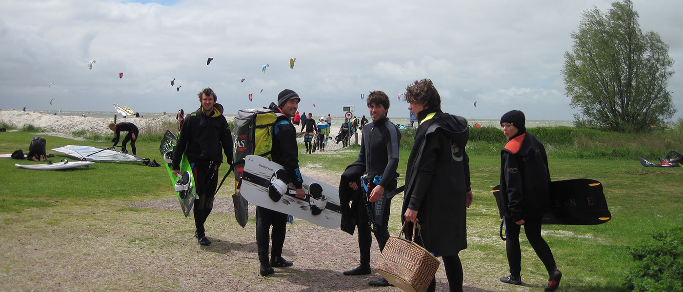 Kiteboarding Holland