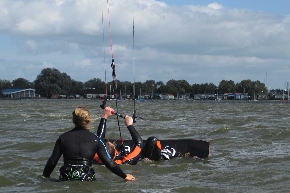 Kitesurf-Events für Teenies
