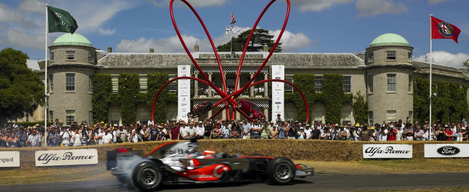 Reisen Spitzensportevent Goodwood Festival of Speed England Großbritannien