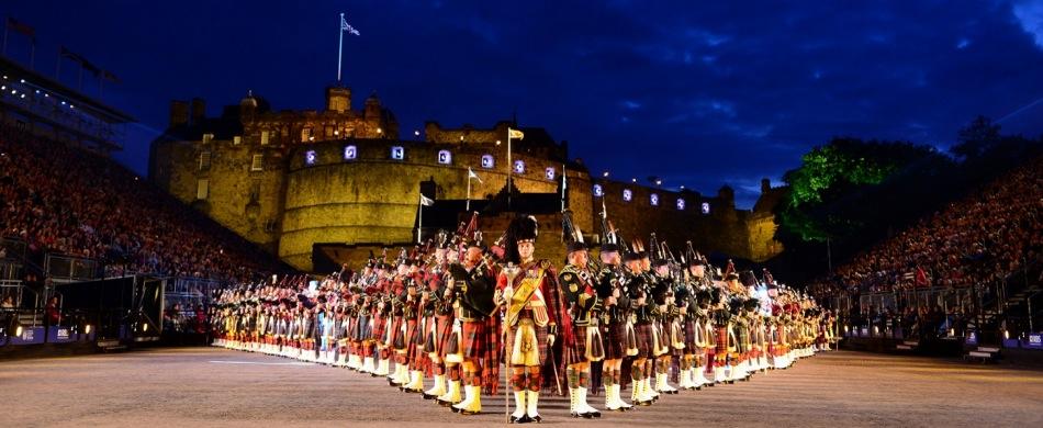 Reisen zum Royal Edinburgh Military Tattoo Schottland Großbritannien