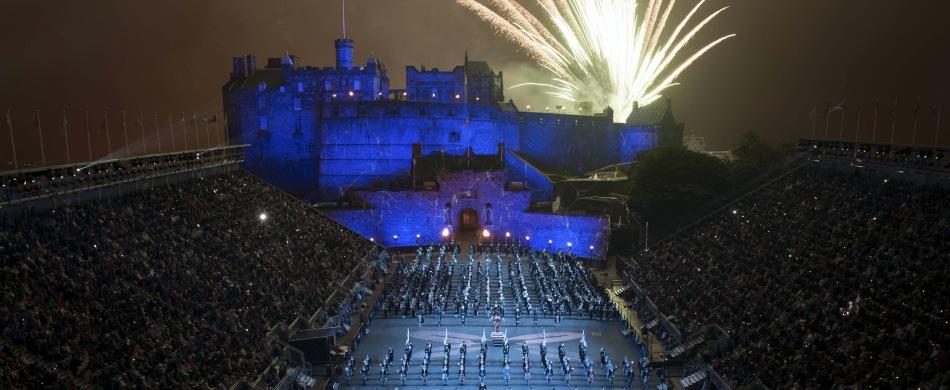 Reisen zum Edinburgh Military Tattoo Schottland Großbritannien