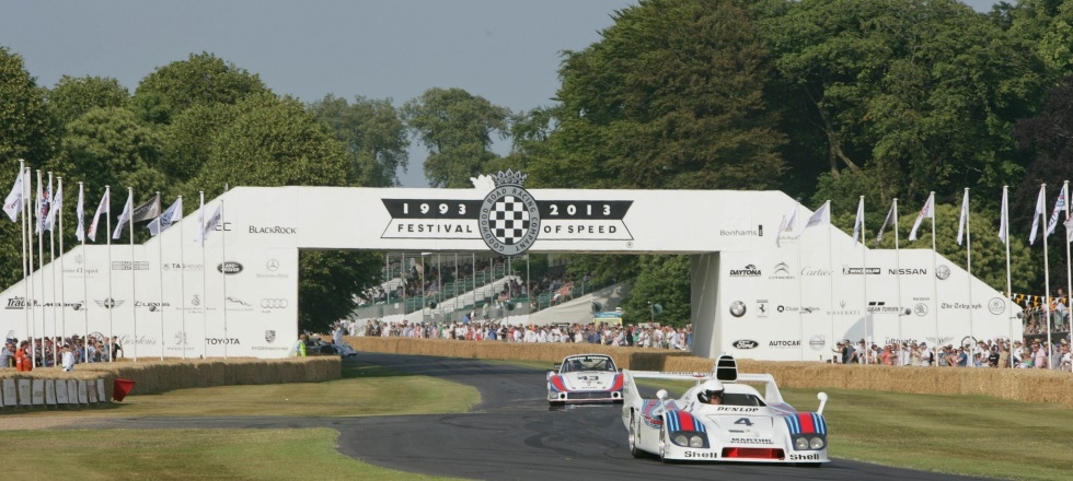 Reisen und Tickets Motorsportfestivals Goodwood Festival of Speed in England Großbritannien