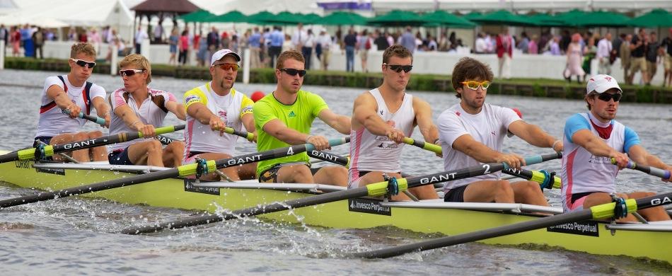 Reisen zur Henley Royal Regatta in England Großbritannien