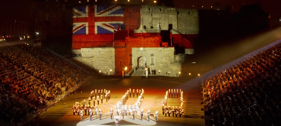 Reisen zum Royal Edinburgh Military Tattoo Schottland Großbritannien