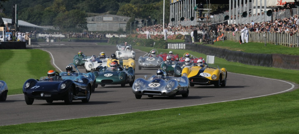 Reisen und Tickets Motorsportfestivals Goodwood Revival in England Großbritannien