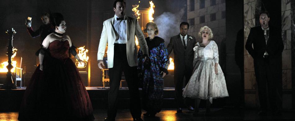 Opernreise zu Opern im Royal Opera House London England Großbritannien
