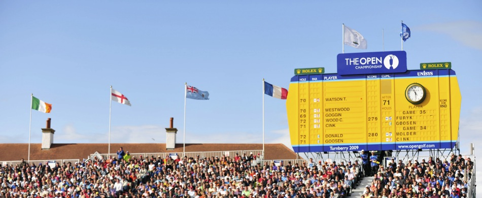 Reisen und Tickets zu den Golfturnieren The Open Championship oder British Open und BMW PGA Championship England Großbritannien