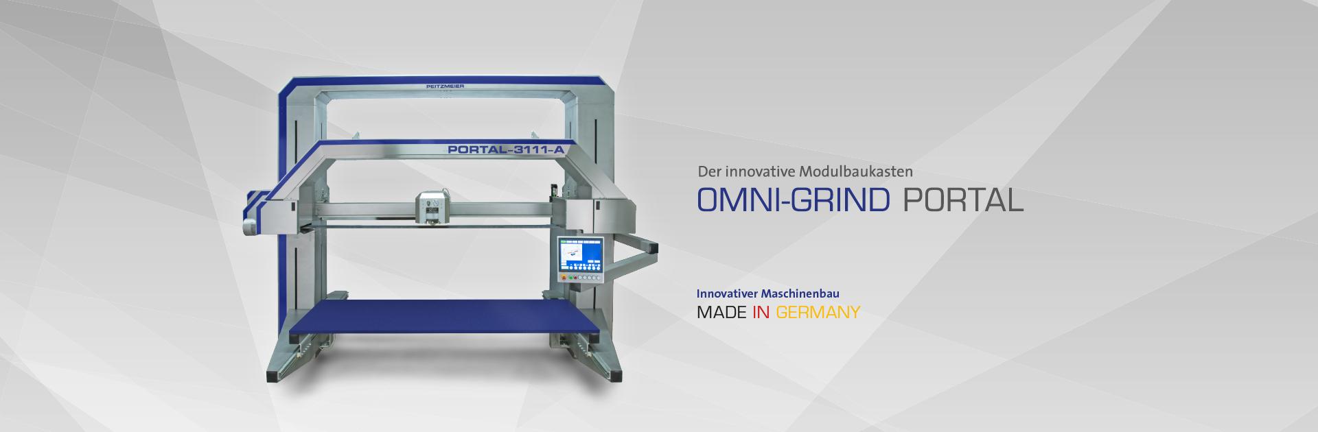 OMNI-GRIND PORTAL - Der innovative Modulbaukasten