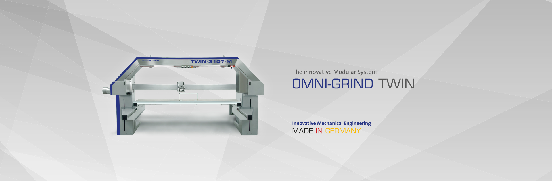 OMNI-GRIND TWIN - The innovative Modular System