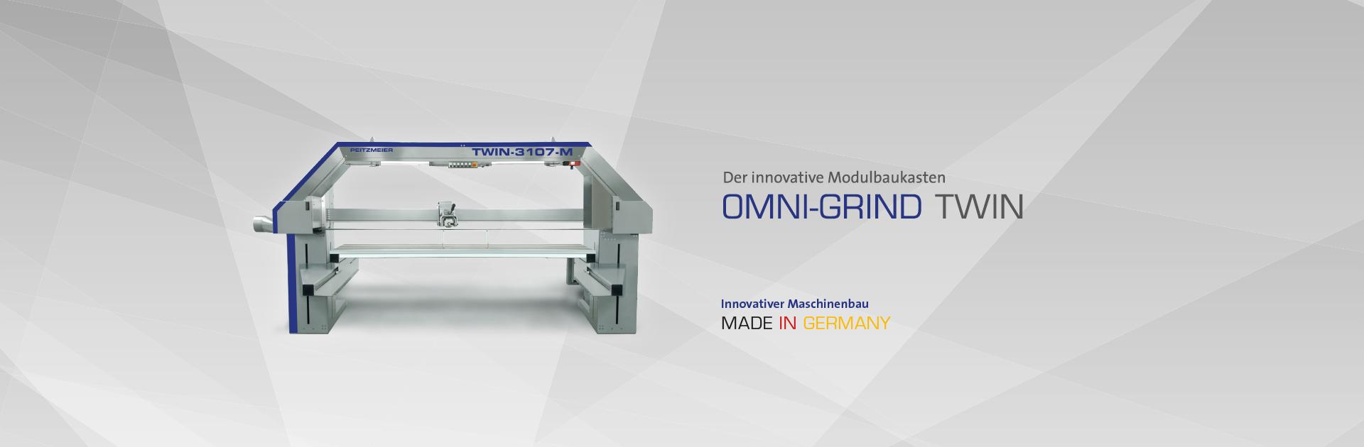 OMNI-GRIND TWIN - Der innovative Modulbaukasten