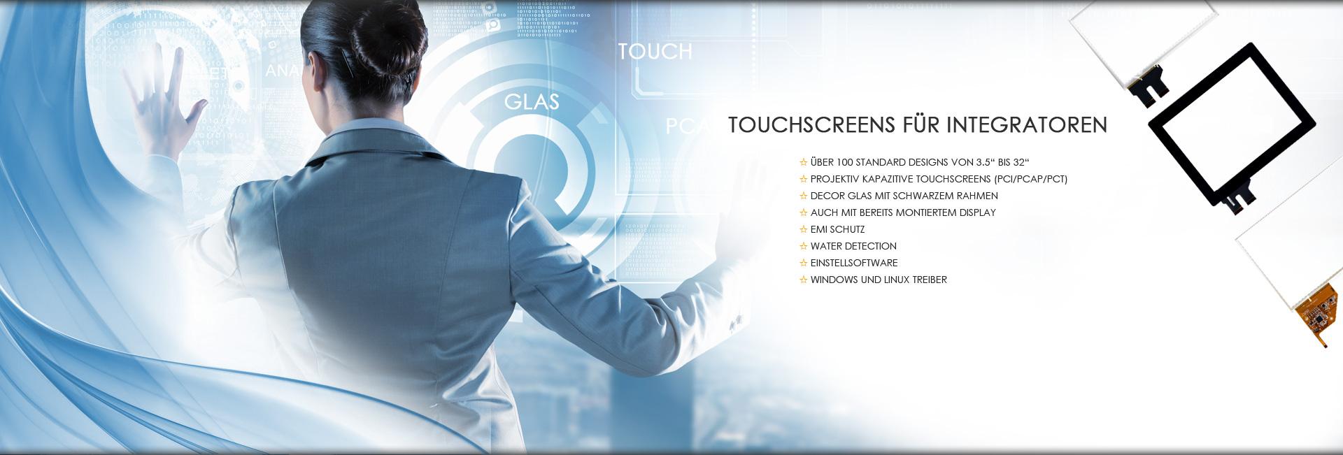 Touchscreens von SET